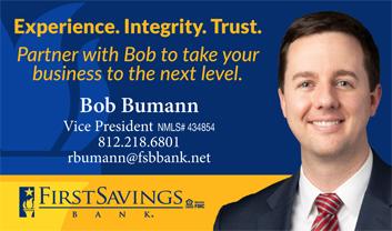 Bob Bumann, VP First Savings Bank