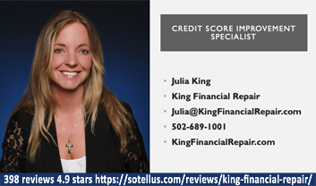Julia King, King Financial Repair