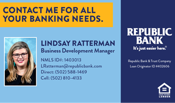 Lindsay Ratterman, Republic Bank