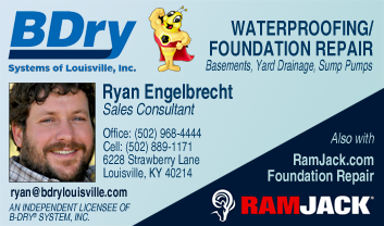 Ryan Engelbrecht, B-Dry Louisville and RamJack
