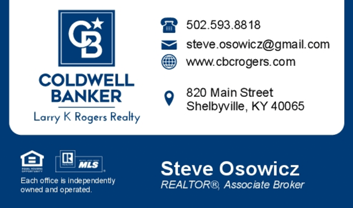 Steve Osowicz, Coldwell Banker