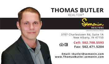 Thomas Butler, Realtor