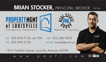 Brian Stocker, Property Management of Louisville