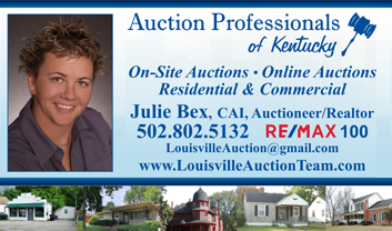 Julie Bex, Auctioneer