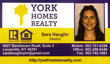 Sara Heuglin, York Homes Realty
