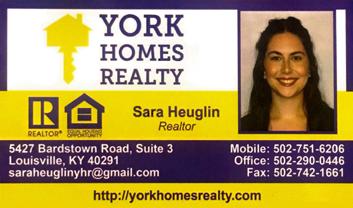 Sara Heuglin, York Homes Realty