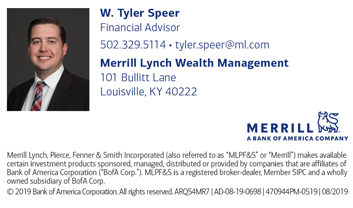Tyler Speer, Merrill Lynch