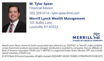 Tyler Speer, Merrill Lynch