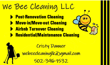 Cristy Danner, We Bee Cleaning