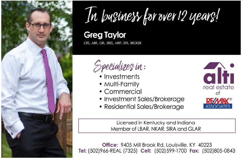 Greg Taylor, Alti Real Estate of Re/Max Associates