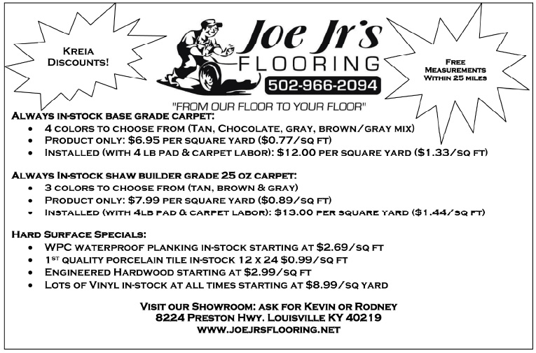 Joe Jr.'s Flooring