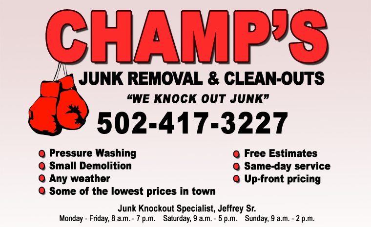 Champ's Junk Removal & Cleanout