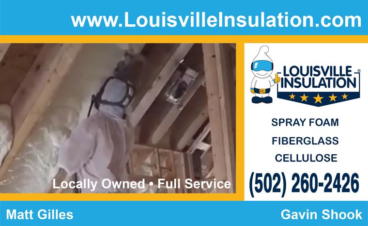 Louisville Spray Foam Insulation