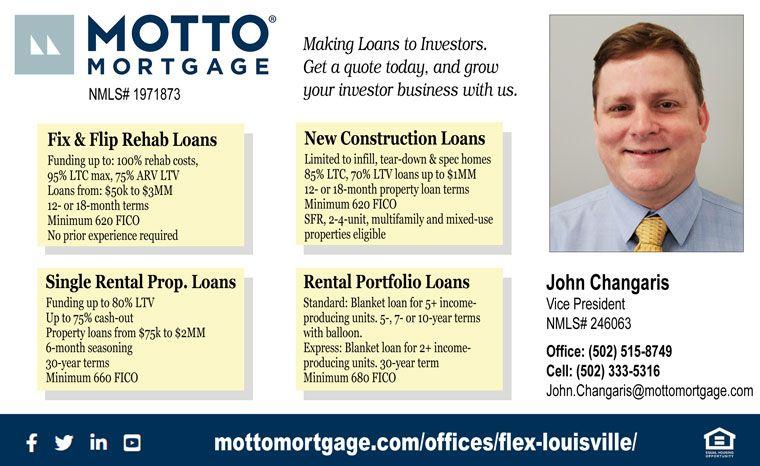 John Changaris, Motto Mortgage Flex