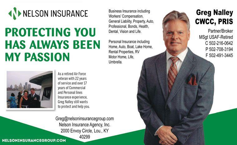 Greg Nalley, Nelson Insurance