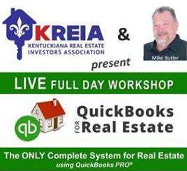 KREIA | QuickBooks PRO for Real Estate with Mike Butler