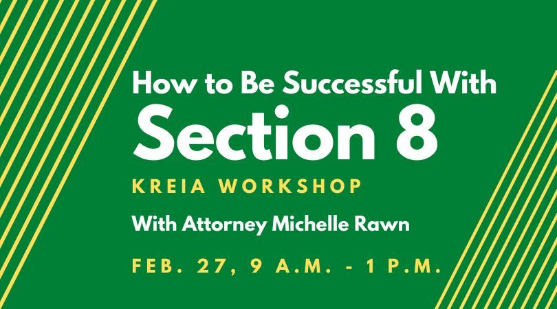 Section 8 Workshop