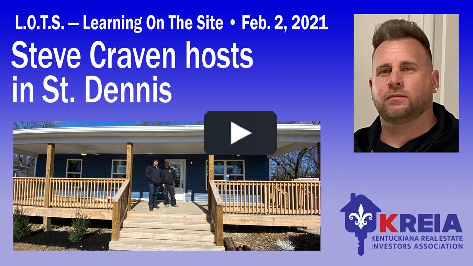 Steve Craven's L.O.T.S. event