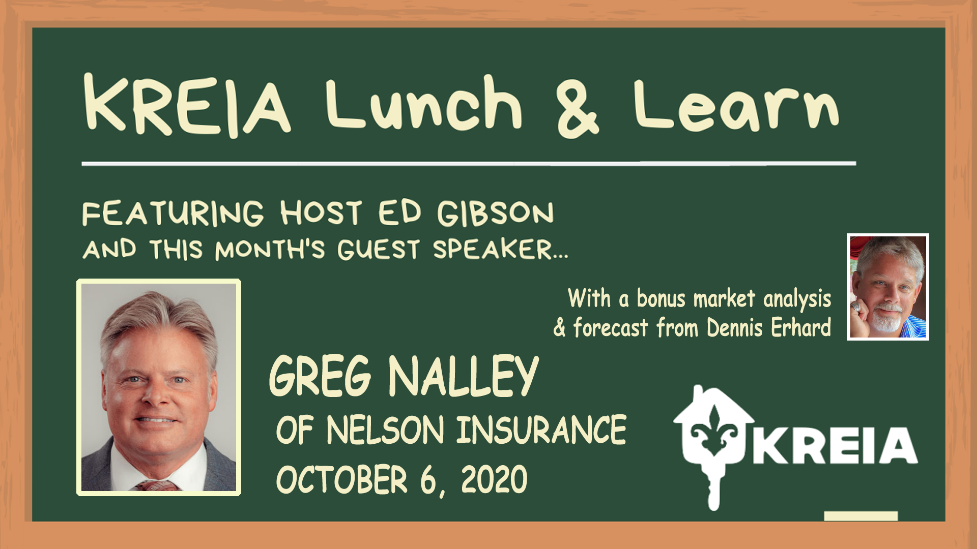 Lunch and Learn with Greg Nalley