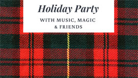 Holiday Party - Design by Nina Musgrave